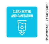 clean water and sanitation...