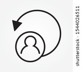 logout user sign icon design