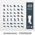 Shoes icons set (set of 30 Quality icons )