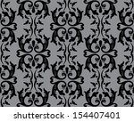 seamless wallpaper pattern  | Shutterstock .eps vector #154407401