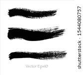 brush stroke watercolor.vector... | Shutterstock .eps vector #1544080757