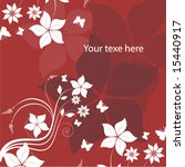 abstract floral vector... | Shutterstock .eps vector #15440917