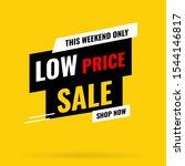 banner mega sale  special offer ... | Shutterstock .eps vector #1544146817