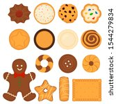 illustration on theme big set... | Shutterstock .eps vector #1544279834