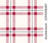 classic hand drawn plaid checks ... | Shutterstock .eps vector #1544358287