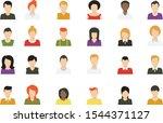 social media avatar vector...