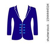 vector jacket icon  man... | Shutterstock .eps vector #1544444534