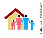 family insurance icon   from... | Shutterstock .eps vector #1544445677