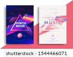 electronic music festival... | Shutterstock .eps vector #1544466071