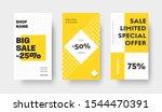 social media vector story...   Shutterstock .eps vector #1544470391
