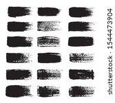 vector set of grunge brush... | Shutterstock .eps vector #1544473904