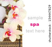 spa settings with pink... | Shutterstock . vector #154447829