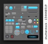 button set. vector
