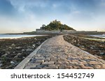 st michael's mount in cornwall...