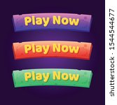set of 3 play now buttons for...