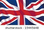 vector stylish waving united... | Shutterstock .eps vector #15445648