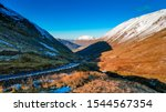 Kirkstone Pass In Autumn With...