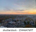 London Ontario Panorama in Autumn season.