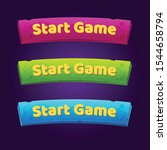 set of 3 start game buttons for ...