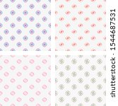 set simple geometric vector... | Shutterstock .eps vector #1544687531