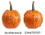 Warty Bumpy Orange Pumpkin...