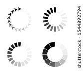 collection black white... | Shutterstock .eps vector #1544892794
