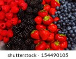 assorted berries | Shutterstock . vector #154490105