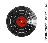 vinil record  vector isolated...   Shutterstock .eps vector #1544918261