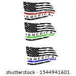us flag    america distressed... | Shutterstock .eps vector #1544941601