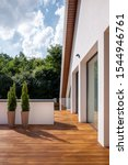 Stylish And Big Home Terrace...
