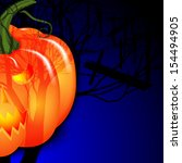 background for halloween.... | Shutterstock .eps vector #154494905