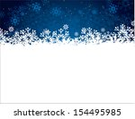 christmas background. vector... | Shutterstock .eps vector #154495985