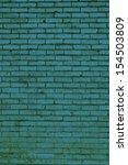 deep green brick abstract... | Shutterstock . vector #154503809