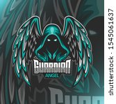 Guardian Angel Logo Mascot...