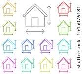 house  size  arrows multi color ...