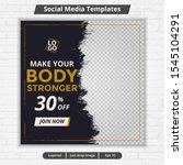 modern template web and banner... | Shutterstock .eps vector #1545104291