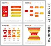 diagram set for corporate... | Shutterstock .eps vector #1545107174