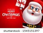 christmas santa claus... | Shutterstock .eps vector #1545151397