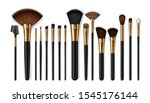 makeup brush vector mockups of... | Shutterstock .eps vector #1545176144