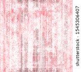 grunge pink seamless texture... | Shutterstock .eps vector #1545306407