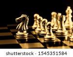 Gold Chess. Elite Business Team ...