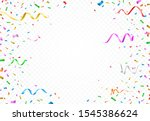set of isolated vector party... | Shutterstock .eps vector #1545386624