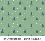 christmas tree background... | Shutterstock .eps vector #1545433664