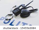 Police Equipment. Handcuffs ...