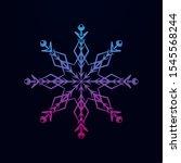 snowflake nolan icon. simple...