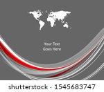 bright vector business template ... | Shutterstock .eps vector #1545683747