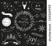 Christmas Doodle Chalkboard...