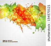 vector blots background   Shutterstock .eps vector #154570121