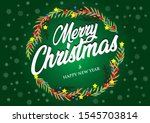 christmas and new year's... | Shutterstock . vector #1545703814