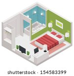 3d,apartment,architecture,bath,bathroom,bed,building,carpet,chair,cutaway,decor,decoration,design,domestic,drawing